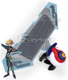Yu-Gi-Oh! VRAINS Yusaku Fujiki Playmaker Duel Disk Cosplay Weapon Prop - Premium Edition