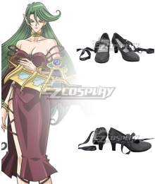 Yu-Gi-Oh! Yugioh Camula Black Cosplay Shoes