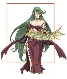 Yu-Gi-Oh! Yugioh Camula Green Cosplay Wig