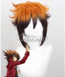 Yu-Gi-Oh! Yugioh GX Judai Yuki Jaden Yuki Orange Brown Cosplay Wig