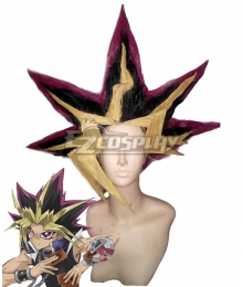 Yu-Gi-Oh! Yugioh Muto Yugi Yami Yugi Pharaoh Aibo Cosplay Wig