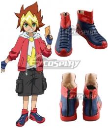 Yu-Gi-Oh! Yugioh Sevens Yuga Oudou Blue Cosplay Shoes