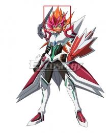 Yu-Gi-Oh! Yugioh Zexal Yuma Tsukumo ZEXAL II Orange Pink Cosplay Wig