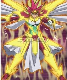 Yu-Gi-Oh! Yugioh Zexal Yuma Tsukumo ZEXAL III Cosplay Costume