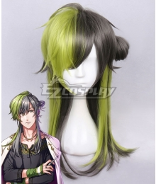 Yume 100 Sleeping Princes & The Kingdom Of Dreams Capita Green Black Cosplay Wig