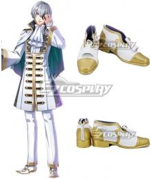 Yume 100 Sleeping Princes & The Kingdom Of Dreams Girbert Golden White Cosplay Shoes