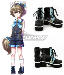 Yume 100 Sleeping Princes & The Kingdom Of Dreams Procyon Black Cosplay Shoes
