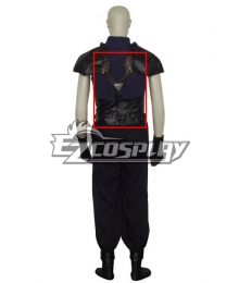 Crisis Core:Final Fantasy VII Zack Fair Cosplay Costume Only Strap Belt