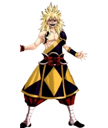 Fairy Tail Zancrow Cosplay Costume