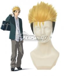 Ajin Demi Human Kaito Short Yellow and Black Cosplay Wig 404A