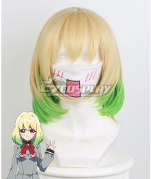 Twin Star Exorcists Mayura Otomi Yellow Gradient Cosplay Wig 362C
