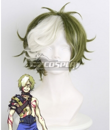 Kabaneri of the Iron Fortress Ikoma Dark Green Cosplay Wig 403B