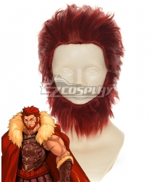 Fate Zero Rider Conquestor Alexander Red Cosplay Wig