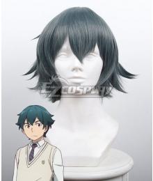 Eromanga Sensei Masamune Izumi Gray Green Cosplay Wig 431B