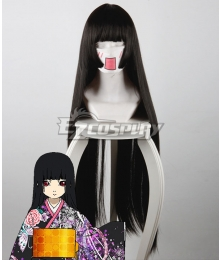 Hell Girl: Yoi no Togi Ai Enma Black Cosplay Wig 440A