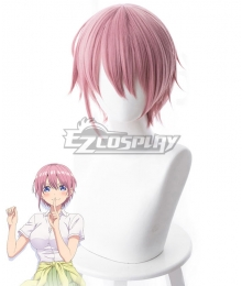 The Quintessential Quintuplets Go-Tōbun no Hanayome 5 Equal Brides Ichika Nakano Pink Purple Cosplay Wig - 481A
