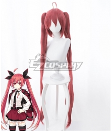 Date A Live Kotori Itsuka Dark Red Cosplay Wig - 394A
