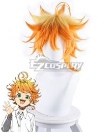 The Promised Neverland Emma Orange Yellow Cosplay Wig - 483A