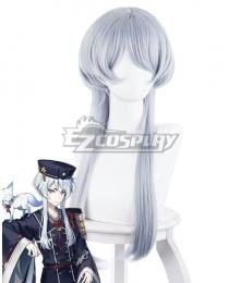 Touken Ranbu Hakusan Yoshimitsu Silver White Cosplay Wig - 363EE