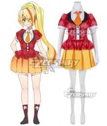 Zombieland Saga Nikaidou Saki Idol Outfits Cosplay Costume