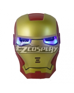 Marvel Iron Man Ironman Cosplay Mask Cosplay Accessory Prop - Light Eyes