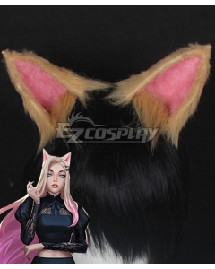 League Of Legends LOL 2020 KDA K/DA Ahri Ears Cosplay Accessory Prop