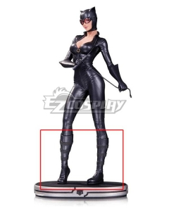 DC Comics Catwoman Black Shoes Cosplay Boots