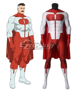 Invincible Omni-Man Jumpsuit Cosplay Costume