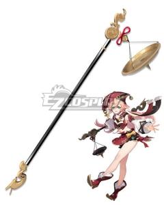 Genshin Impact Yanfei Balance Weight Scale Cosplay Weapon Prop