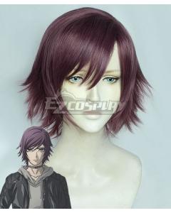 Akudama Drive Courier Hakobiya Purple Cosplay Wig