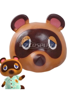 Animal Crossing: New Horizons Tom Nook Mask Cosplay Accessory Prop