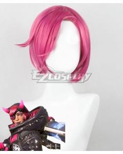 Apex Legends Wattson Pink Cosplay Wig