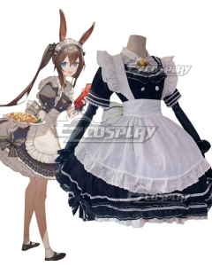Arknights Amiya Maid Cosplay Costume