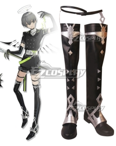 Arknights Arene Black Shoes Cosplay Boots