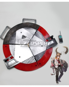 Arknights Bison Shield Cosplay Weapon Prop