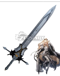 Arknights Blemishine Sword Cosplay Weapon Prop