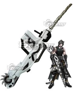 Arknights Broca Gun Cosplay Weapon Prop