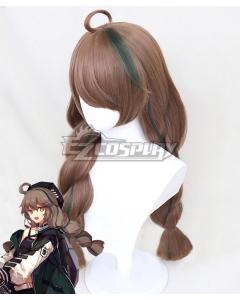 Arknights Cuora Brown Cosplay Wig