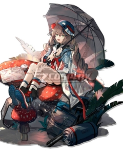 Arknights Cuora Quadrilateral Skin Cosplay Costume