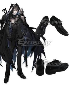 Arknights Phantom Black Cosplay Shoes
