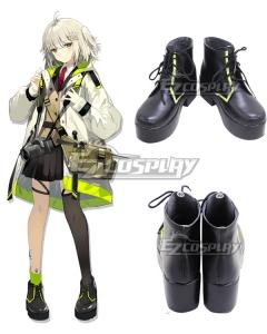 Arknights Scene Black Cosplay Shoes
