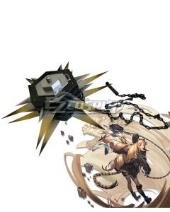 Arknights Swire Elite Promotion Meteor Hammer Cosplay Weapon Prop