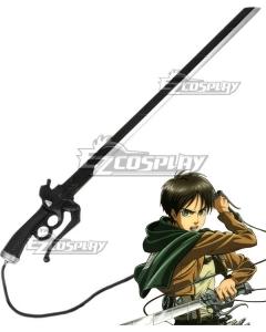 Attack On Titan Shingeki No Kyojin Eren Jaeger Sword Cosplay Weapon Prop