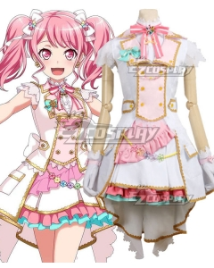BanG Dream ! Girls Band Party! Maruyama Aya A Sparkling Stage Awaits Cosplay Costume
