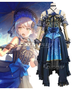 BanG Dream! Roselia Beyond the Autumn Clouds Minato Yukina Cosplay Costume