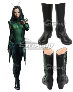 Marvel Guardians of the Galaxy Vol. 2 Mantis Black Shoes Cosplay Boots