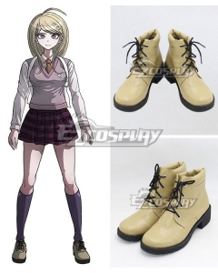 Danganronpa V3: Killing Harmony Akamatsu Kaede Yellow Shoes Cosplay Boots