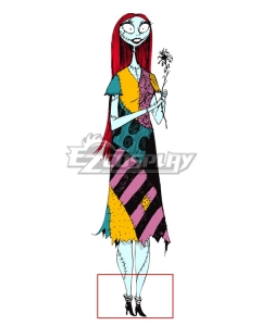 Nightmare Before Christmas Sally Halloween Black Cosplay Shoes