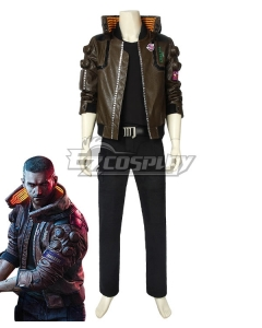 Cyberpunk 2077 V Male Cosplay Costume B Edition