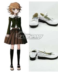 Dangan Ronpa Fuji Chihiro Chihiro Fujisaki White Shoes Cosplay Boots